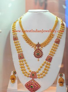 Indian Gold Bridal Sets