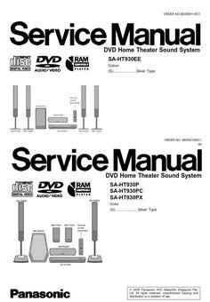 Panasonic SC-BTT885 BTT865 Service Manual and Repair Guide