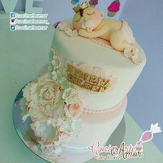 Hermoso pastel!!! De los diseños que considero me han salido más bonitos!!! Justo para celebrar un lindo BabyShower! Felicidades a la futura mami. 🎀🎉🎁🎂👌🎈🌺🌼🌸 #PastelesZacatecas #ReposteriaCreativa #Fresnillo #Zacatecas #babyshowercake