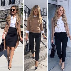 Stylish Work Outfits, Classy Outfits, Chic Outfits, Fall Outfits, Fashion Outfits, Fashion Blogs, Fashion Clothes, Hipster Outfits, Fashionable Outfits