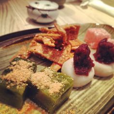 Vegan Japanese desserts