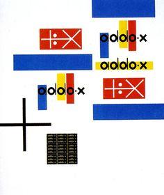 Branding work by Ladislav Sutnar. Czechoslovakia. 1897 - 1976.