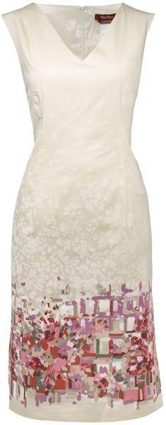 MaxMara Studio Confetti Print Shift Dress - Lyst