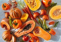Các loại thực phẩm màu vàng cam mang lại nhiều hữu ích cho sức khỏe.