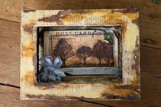 altered book picture frame - gotta try this!