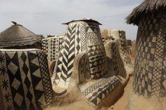 Painted Dwellings - Tiebele, Burkina Faso