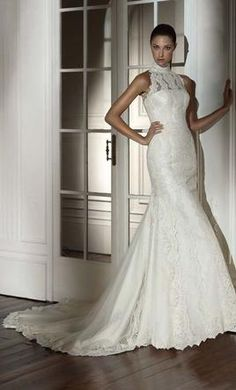 Pronovias, find it on PreOwnedWeddingDresses.com