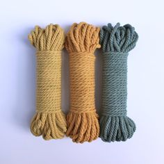 Image of Hand-Dyed Twisted Cotton Rope