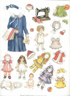 Brooke and Buddy of the 1920s Paper Dolls by Evelyn Gathings, -Dover…