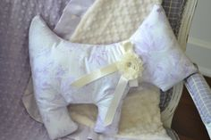 Minky Pillow Dog Pillow Nursery Decor Crib Bedding by LyLyRosee, $20.00
