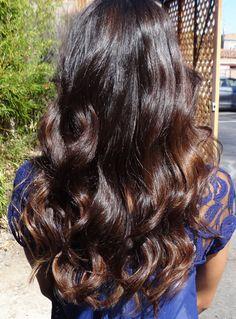 warm brunette hair color