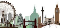 London skyline idea to add to pot