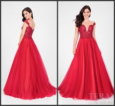 Red Lace Applique Dresses Evening Wear 2017 Sheer Short Sleeve Scoop Open Back Crystal Beaded Sequins Chiffon Prom Gowns Runway Fashion Fashion Gowns Formal Dress Shop From Molly_bridal, $103.72| Dhgate.Com
