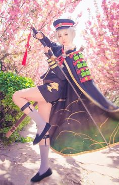 Top 4 Characters Cosplay from Touken Ranbu