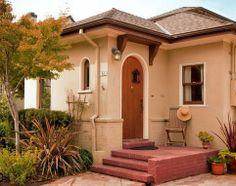 home exterior design small for small home must still show personal appeal and welcoming feeling for guests