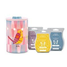 Great Mother's Day Gift Idea!            - Pretty Bird Scentsy Warmer      - Luna Scentsy Bar      - Lucky in Love Scentsy Bar      - My Only Sunshine Scentsy Bar   https://tressalynne.scentsy.us