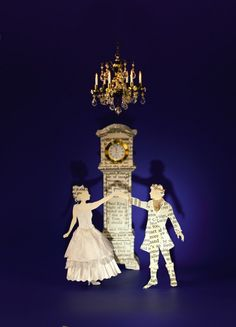 Su Blackwell, 'Cinderella' book sculpture from her book 'The Fairytale Princess: Seven Classic Stories from the Enchanted Forest'. Artwork by: Su Blackwell. Retellings By: Wendy Jones. Photographs by: Tim Clinch. Published by: Thames & Hudson, 2012 Quentin Blake, Book Sculpture, Paper Sculptures, Princess And The Pea, Children's Book Illustration, Rapunzel, The Little Mermaid, Paper Art, Paper Crafts