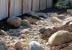 Examine this crucial pic and also have a look at the shown info on Riverbed Landscaping Natural Landscaping, Landscaping With Rocks, Outdoor Landscaping, Front Yard Landscaping, Landscaping Ideas, Backyard Ideas, Dry Creek Bed, Dry River, Images Google