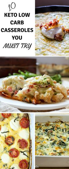 10 Keto Low Carb Casseroles You Must Try