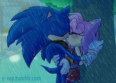 Sonic enleve ta langue de amy sa ses un friench kiss et ses moi qui est française