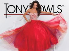 Tony Bowls Paris 114710  ballgown #ipaprom #prom2014 #prominsider