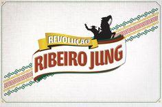 Ribeiro Jung - Promo Logos by Fernando Rocha, via Behance