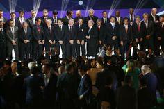 BRA311. COSTA DO SAUÍPE (BRASIL), 06/12/2013.- Los entrenadores de las selecciones nacionales que participarán en la copa mundo de la FIFA p...