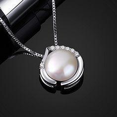 B.Catcher Collar Perla Mujer Plata de Ley 925 corazón joven con Para Regalo Navidad originales: Amazon.es: Joyería