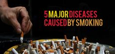 5 Major Diseases Caused by Smoking, Would You
