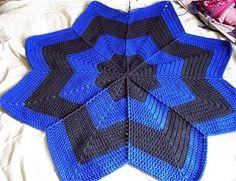 JR Crochet Designs: Free- Down in the Valley RR Afghan Pattern