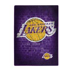 Los Angeles Lakers Logo, Lakers Wallpaper, Jersey Adidas, Blanket On Wall, Game Wallpaper Iphone, Nba Wallpapers, Brick Patterns, Sports Gifts, A Team