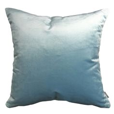 Velvet Glamour Pastel Blue Pillow #pillows #throwpillow #interiors #homedecor #cushions #mialiving
