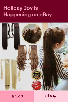 Hair Extensions & Wigs Brave Snoilite 18 Long Wavy Synthetic Ponytail Black Brown Drawstring Clip In Ponytail Hair Extensions Tie Up Fake Hair Tail Synthetic Ponytails