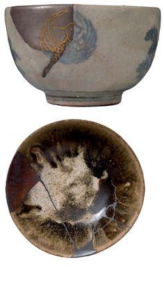 8 Japanese Ceramics, Japanese Pottery, Japanese Art, Ceramic Decor, Ceramic Pottery, Chawan, Kintsugi, Tea Bowls, Tea Ceremony