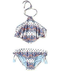 GB Girls Big Girls Paisley High Neck Bikini Top & Bottom Swim Set Source by bathing suits Bathing Suits For Teens, Summer Bathing Suits, Cute Bathing Suits, Bikini Mode, Kids Suits, Swimming Costume, Cute Swimsuits, Bikinis, Swimwear