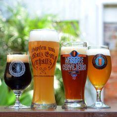 Copos e taças Mestre-Cervejeiro.com #cerveja #cervejaartesanal #taça #copo #glass #pint #tulip #snifter #beer #craftbeer