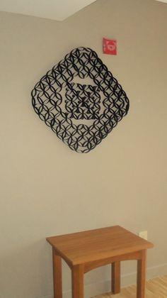Toilet Paper Rolls Wall Art