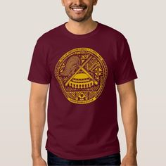 Seal of American Samoa-Yellow T Shirt