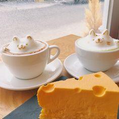 디저트 전문 카페. 마카롱, 크레이프 케이크, 초코 수플레와 아이스크림 등이 있음. 부드러운 우유크림 롤케이크가 인기.