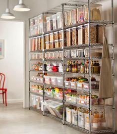Основы организации кухни: Организация кладовой (продуктов питания) и специйHome Life Organization