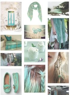 spring color inspiration by Enjoy The Kiss (spare bedroom?)