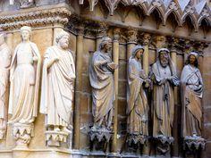 Reims Cathedral, Greek, Statue, Art, Kunst, Sculpture, Art Education, Artworks