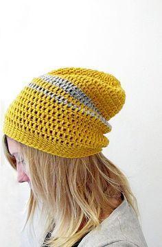 Crochet a Slouchy Beanie