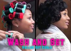 UPDATED: ROLLER SET HAIR TUTORIAL | Wash & Set Your Hair!