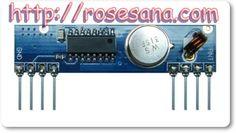2R Hardware & Electronics: RF ASK RECEIVER RLP433.92N AT 433.92MHZ - SAW