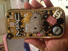 Hello Kitty Mac 3D bling phone case