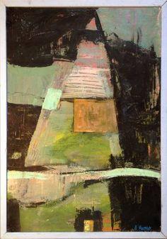 "Saatchi Art Artist Aleksander Kluczniak; Painting, """"Tower"""" #art"