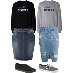 A fashion look from February 2015 featuring True Religion skirts, rag & bone/JEAN skirts and Vans sneakers. Browse and shop related looks.