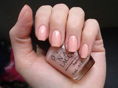 Today's Manicure 6 11 12      OPI - Hopelessly in Love (Sheer Romance Collection 2002) by DelodyLady, via Flickr
