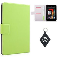 Amazon Kindle Fire (7 Inch Tablet) Green Book Shelf. Includes NuVur ™ keychain. (MDKFDPG1) by Kroo. $7.99. Protect your investment from minor bumps, scratches and debree with this one of a kind sleeve case, made from the finest quality materials with Style and Durability in mind. Fits your Amazon Kindle Fire 7 inch Tablet. Includes NuVur ™ keychain.